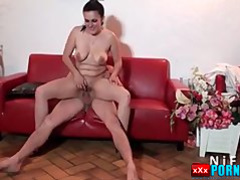Chubby french housewife anal