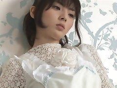 DAIMATSU Yuyu in white dress