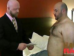 fat bear gets barebacked