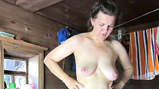 Russian mature and sexy! Amateur!