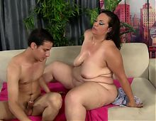 BBW Certified: Flabby Mature Belly Hardcore
