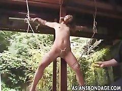 Japanese Bondage outdoor (uncensored)
