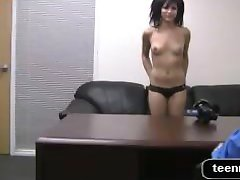 Casting Couch With emo Amateur