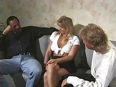 Cuckold: wife fucking two stranger