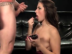 Smoking Fetish - Amazing brunette smoking and fucking