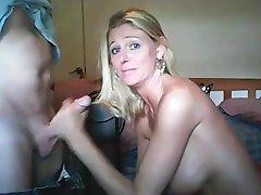 Hot wife blowjob and facials compilation