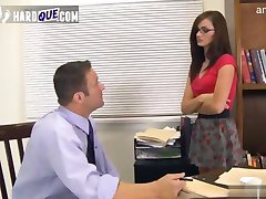 Gorgeous teacher filled with cock brunette