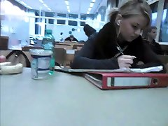 Masturbate in front of Nadja 19year Classmate