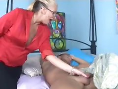 Matures jerking young cocks! Cum loving MILF's