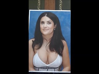 Cum tribute to Salma Hayek (no.3)