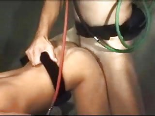 Brunette Enjoys a Scuba Fuck