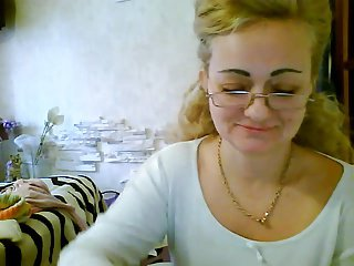 Mature blonde