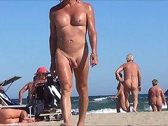 tranny in nude beach with anal jewel rosebud