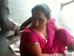 Busty Indian MILF on a Train Station 2 (o) (o)