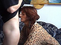 Redhead MILF Takes A Relentless Ass Fuck